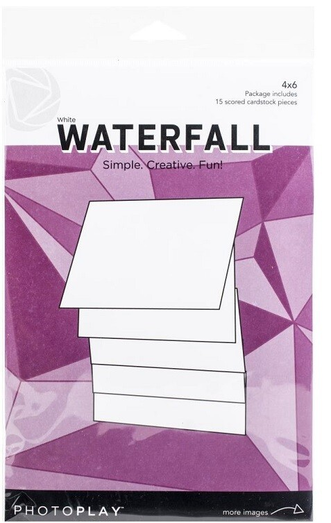 "Photoplay Makers Series 4"" x 6"" Waterfall Set  - White"