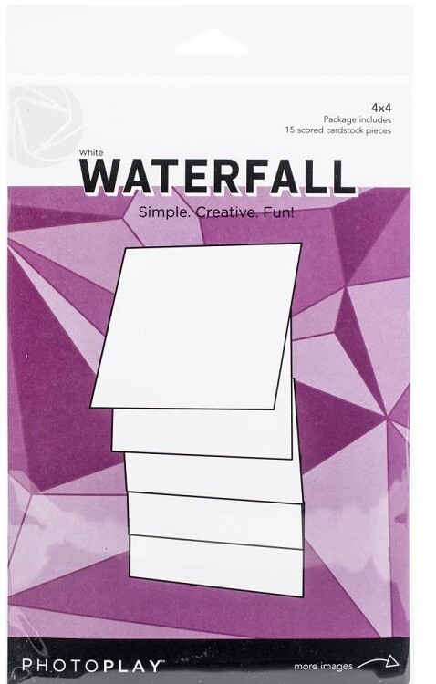 "Photoplay Makers Series 4"" x 4"" Waterfall Set  - White"