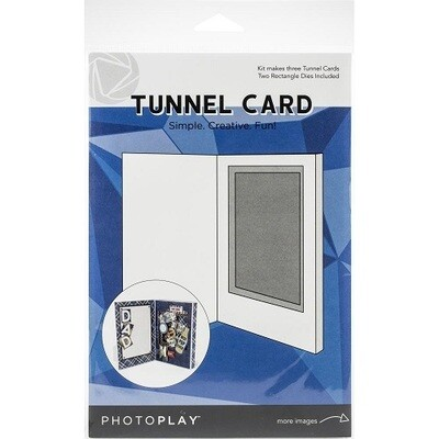 Photo Play - Tunnel Card Rectangle - Makes 3