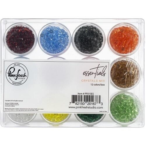 PinkFresh Studio - PFS015ES - Jewel Essentials Assortment - 12 Colours