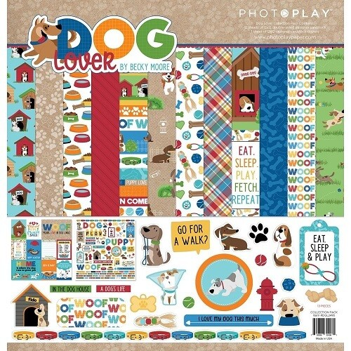 Photoplay - Dog Lover Collection - 12 x 12 Pack
