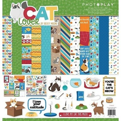Photoplay - Cat Lover 12 x 12 Collection Pack
