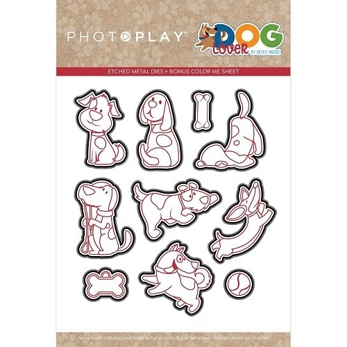 Photoplay - Dog Lovers Collection Die