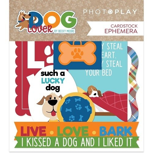 Photoplay - Dog Lover Collection - Ephemera Pack