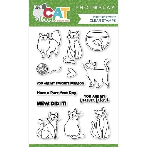 Photoplay - Cat Lovers Collection Stamp