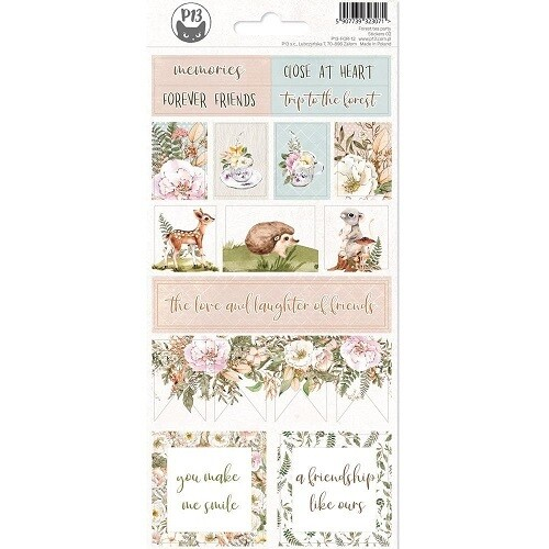 P13 - Forest Tea Party Collection Stickers #02