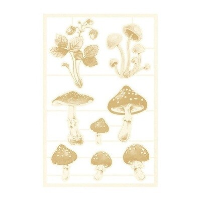 P13 Forest Tea Party Collection Light Chipboard -03