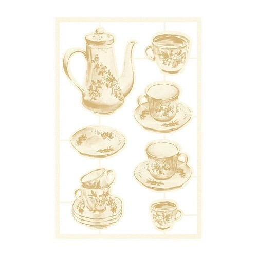 P13 Forest Tea Party Collection Light Chipboard -02