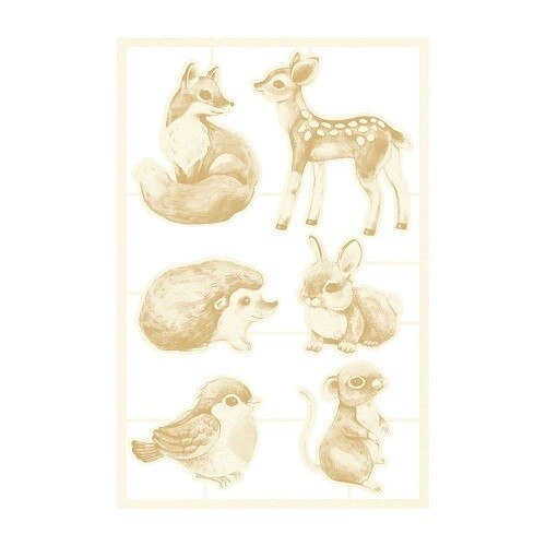 P13 Forest Tea Party Collection Light Chipboard -01