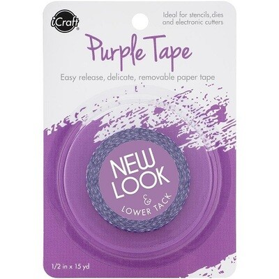 iCraft Purple Masking Tape  - 0.5 x 15yds