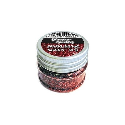 Stamperia - Sparkles -Sparkling  Red - 40grams