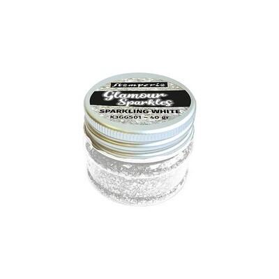 Stamperia - Sparkles -Sparkling  White - 40grams