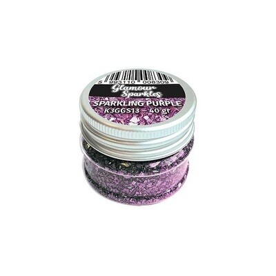 Stamperia - Sparkles -Sparkling  Purple - 40grams