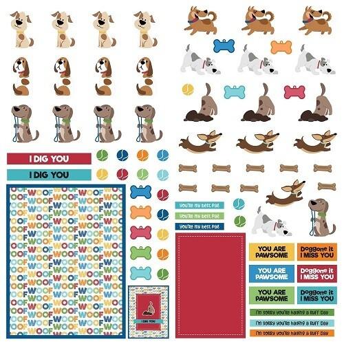 Photoplay - Dog Lover Die Cut Sheet 12 x 12