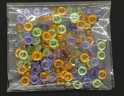Droplets - Acrylic Domes Spring Assortment
