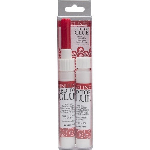 Fineline - Red Top Glue & Dispenser