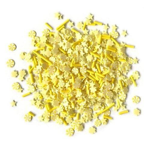 Buttons Galore Sprinkletz - Canary- 12 grams