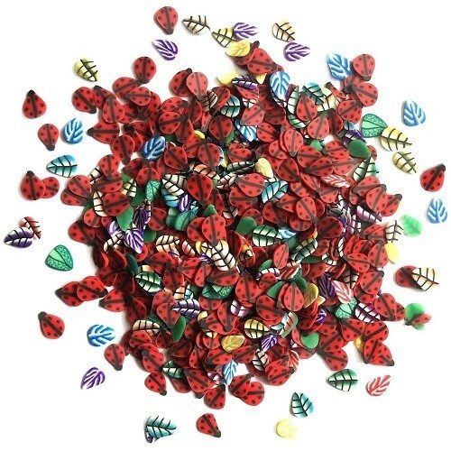 Buttons Galore & More - Sprinkletz - Ladybugs - 12 grams