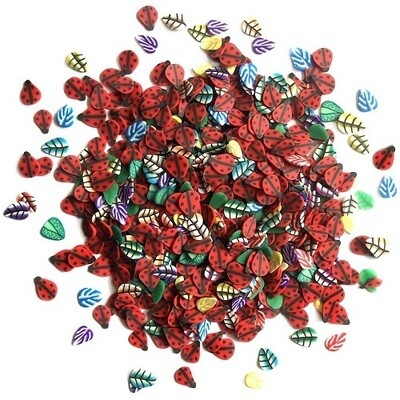 Buttons Galore Sprinkletz -Ladybugs- 12 grams