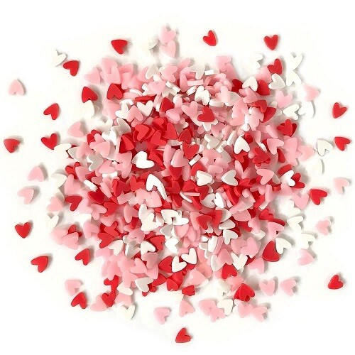 Buttons Galore & More - Sprinkletz - Sweet Hearts- 12 grams