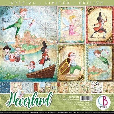 Ciao Bella Paper Company - Neverland Paper Pad - 12 x 12 Limited Edition