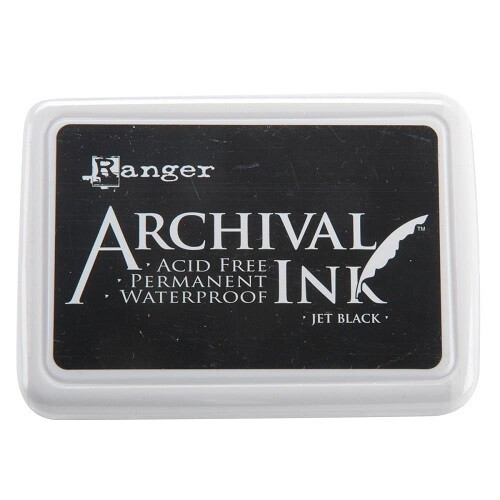 Ranger - Archival Ink Pad - Jet Black #0