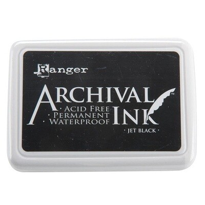 Ranger - Archival Ink Pad - Jet Black #0