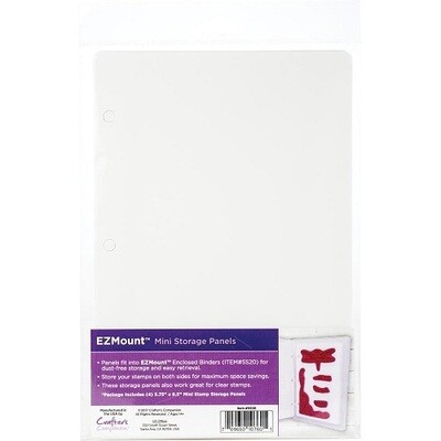 Crafters Companion - EZMount - Mini Storage Panels - 4 pack