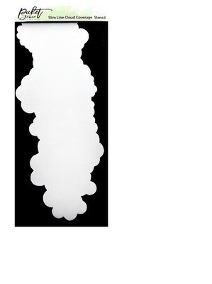 Picket Fence Studios - Cloud Cover Stencil - 1 pce