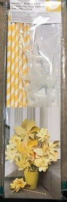 We R Memory Keepers - Pinwheel Attachments - Yellow