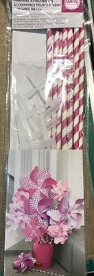 We R Memory Keepers - Pinwheel Attachments - Burgundy