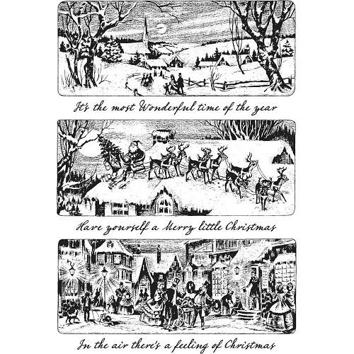Tim Holtz - Art Gone Wild - Holiday Scenes