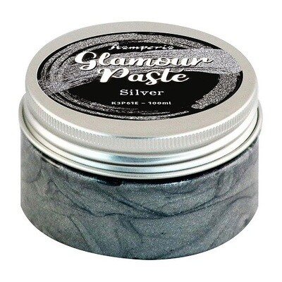 Stamperia - Glamour Paste Silver 100ml