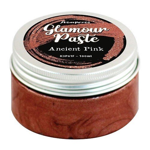 Stamperia - Glamour Paste Ancient Pink 100ml