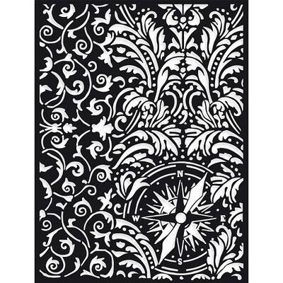 Stamperia - Wallpaper Stencil 15cm x 20cm