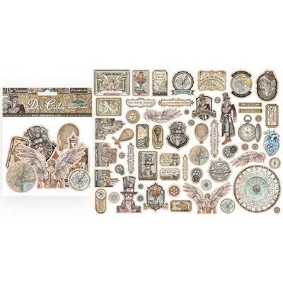 Stamperia - SIR Vagabond Collection -  Die Cuts - 60 pcs