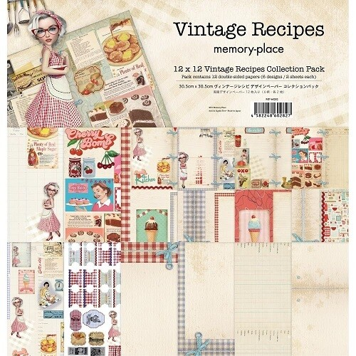 Memory Place - Asuka Studios Vintage Recipes 12 x 12 Collection