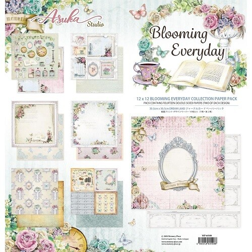 Memory Place - Asuka Studios Blooming Everyday 12 x 12 Collection