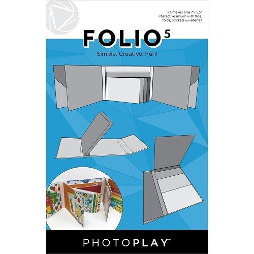 "Photoplay Makers Series - Folio 5 - White - 7.5"" x 5.5"""