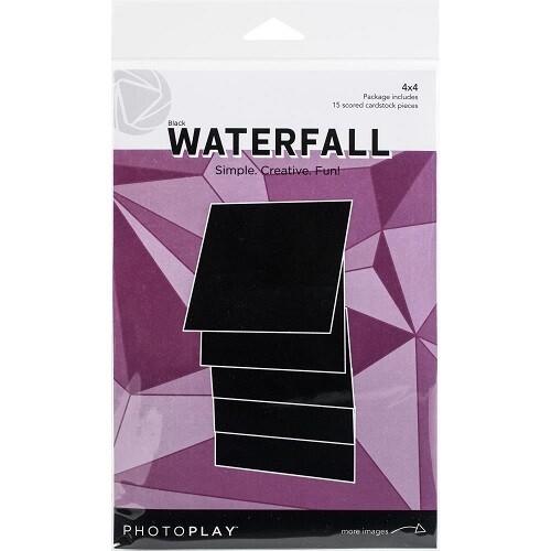 "Photoplay Makers Series 4"" x 4"" Waterfall Set  - Black"