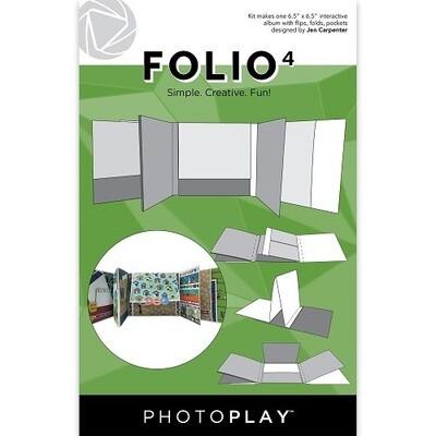 Photoplay Makers Series - Folio 4 - White 6.5