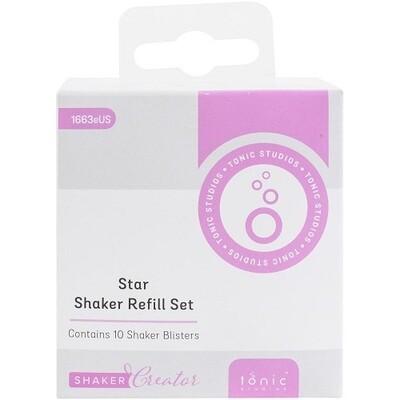 Tonic Studios -  Shaker Refills - Star - SSDS 1663E -10 Pack