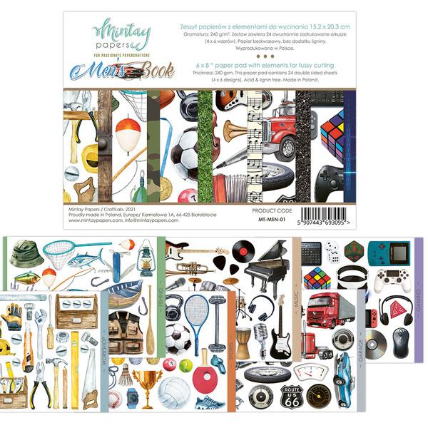 Mintay by Karola - Elements - Mens Book