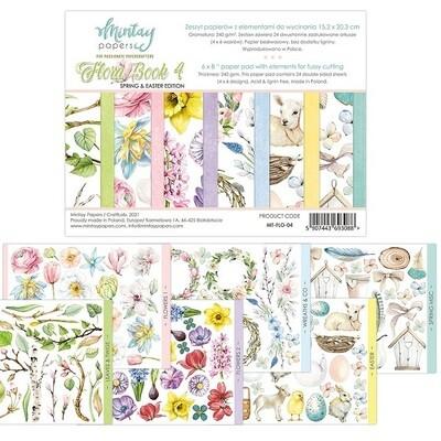Mintay by Karola - Elements  - Floral Book 4