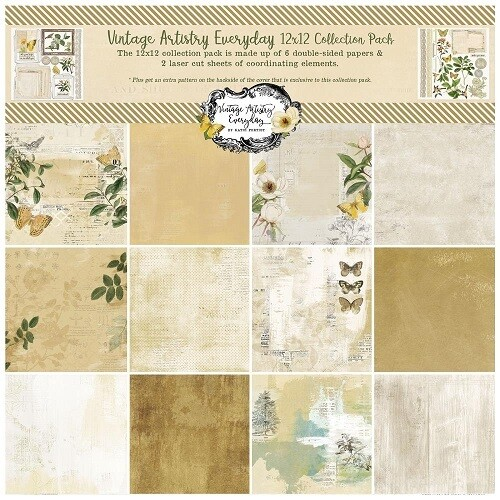 49 & Market - Vintage Artistry Everyday                  12 x 12 paper Collection