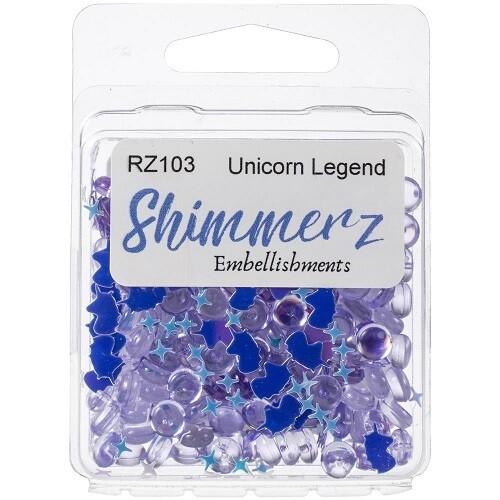 Buttons Galore & More - Shimmerz - Unicorn Legend