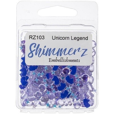 Buttons Galore & More - Shimmerz - Unicorn Legend