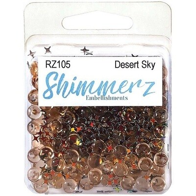 Buttons Galore & More - Shimmerz - Desert Sky