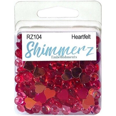Buttons Galore & More - Shimmerz - Heartfelt