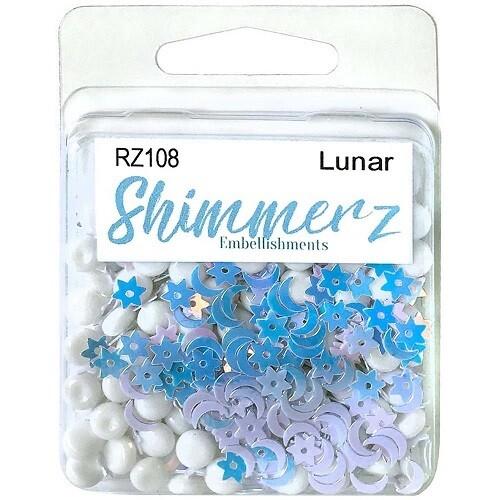 Buttons Galore & More - Shimmerz - Lunar